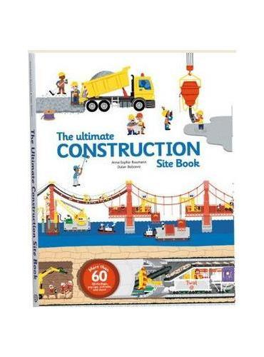 The Ultimate Construction Site Book工程车大全ISBN9782848019840