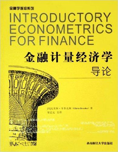 金融计量经济学导论