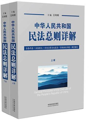 中华人民共和国民法总则详解(上、下册)