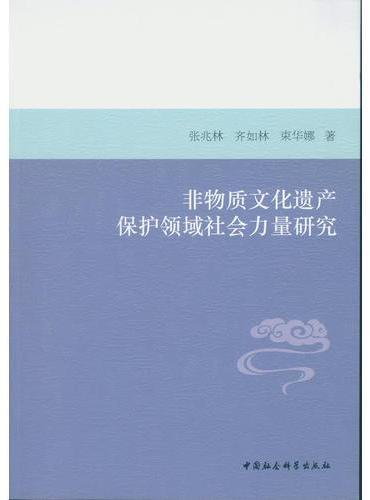 非物质文化遗产保护领域社会力量研究