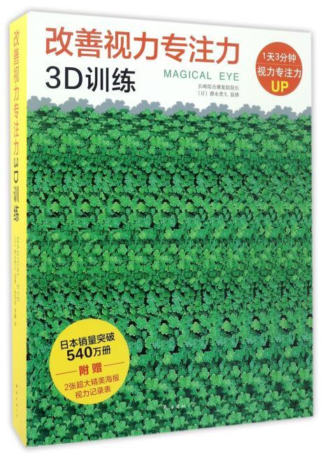 改善视力专注力3D训练(全10册)