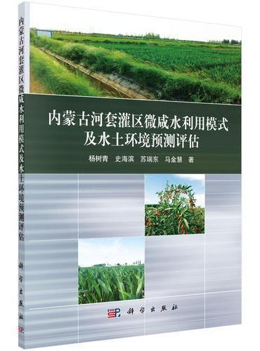 内蒙古河套灌区微咸水利用模式及环境预测评估