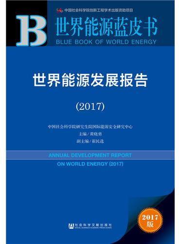 皮书系列·世界能源蓝皮书:世界能源发展报告(2017)