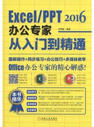 Excel/PPT 2016办公专家从入门到精通