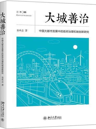 大城善治:中国大都市发展中的政府治理机制创新研究