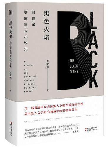 黑色火焰:20世纪美国黑人小说史