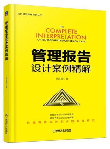 管理报告设计案例精解