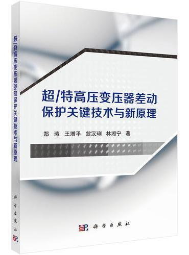 超/特高压变压器差动保护关键技术与新原理