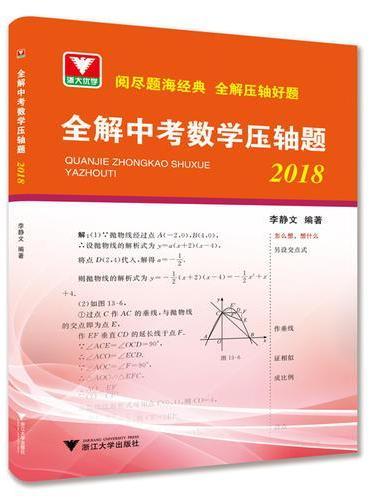 全解中考数学压轴题(2018)