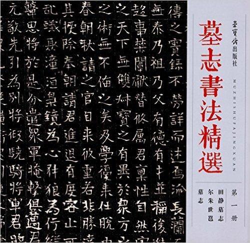 墓志书法精选(第一册):田静墓志、尔朱世邕墓志