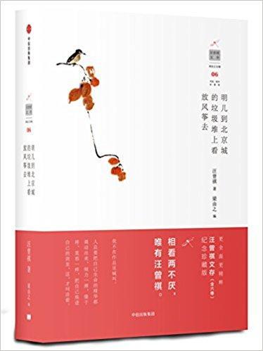 汪曾祺文存06:明儿到北京城的垃圾堆上看放风筝去