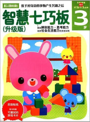 多湖辉新头脑开发丛书:智慧七巧板(升级版) 3岁
