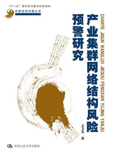 产业集群网络结构风险预警研究(中国经济问题丛书)