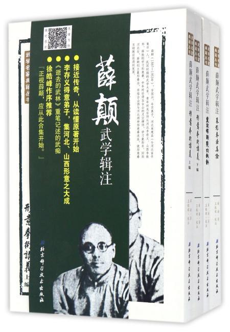 薛颠武学辑注(全四册)