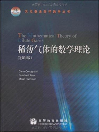 稀薄气体的数学理论(影印版)