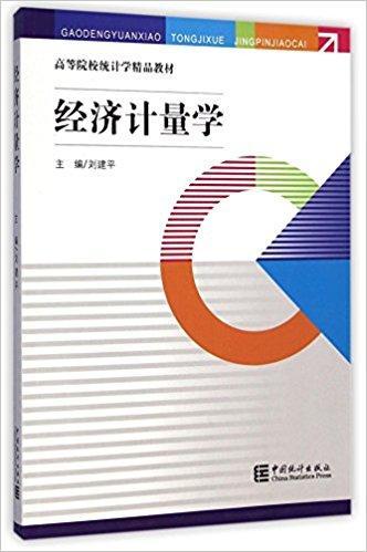 经济计量学(高等院校统计学精品教材)