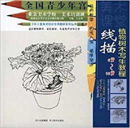 美术课堂?线描:植物树木写生教程(6-18岁)