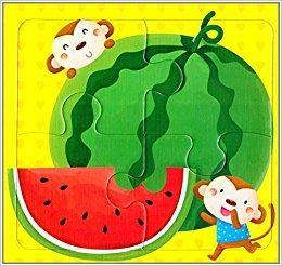 邦臣小红花·动手动脑玩拼图1(2-3岁)