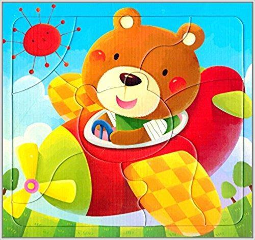 邦臣小红花·动手动脑玩拼图3(2-3岁)