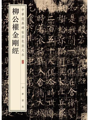 柳公权金刚经(中华经典碑帖彩色放大本)