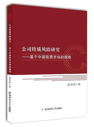 公司特质风险研究-基于中国股票市场的视角