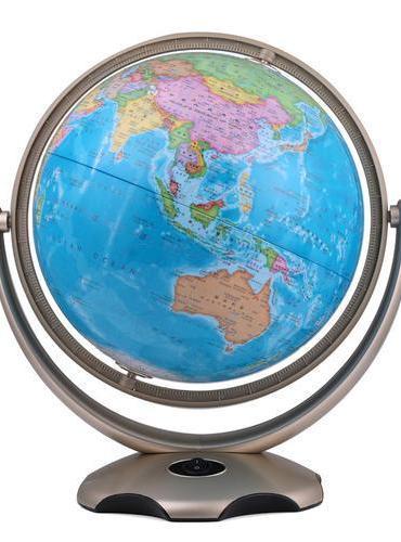 博目地球仪:26cm奇幻星座地球仪(金色支架)