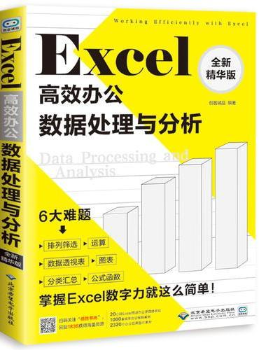 Excel高效办公:数据处理与分析:全新精华版