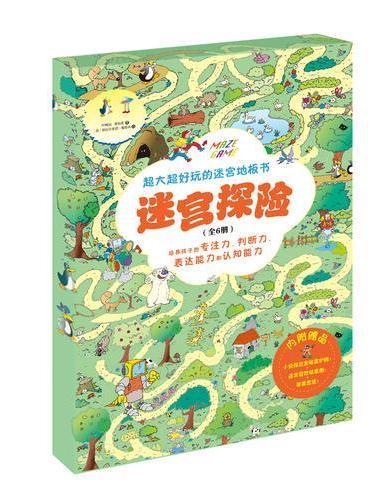 迷宫探险系列套装(共6册)