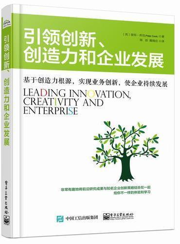 引领创新、创造力和企业发展