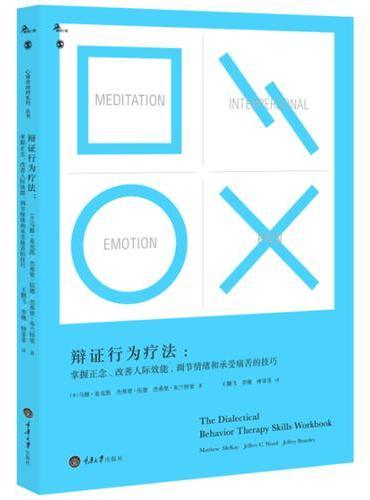 辩证行为疗法:掌握正念、改善人际效能、调节情绪和承受痛苦的技巧