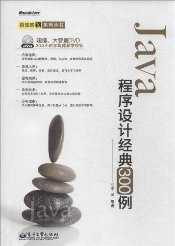 Java程序设计经典300例(附DVD光盘)