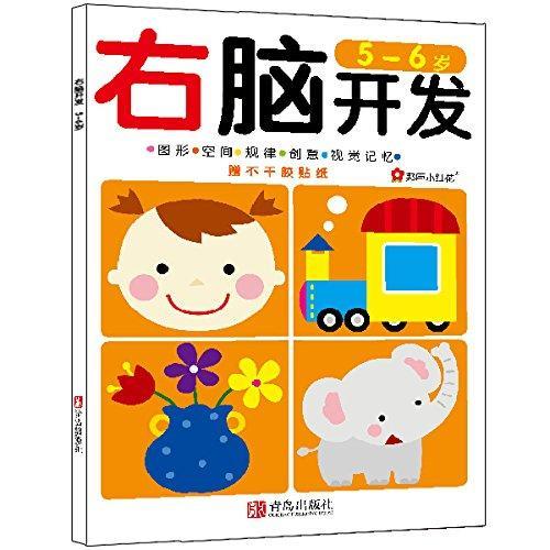 邦臣小红花·右脑开发(5-6岁)(附贴纸)