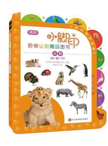 小脚印阶梯认知精品图书?动物(24-36个月)/小脚印阶梯认知精品图书