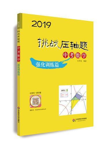 2019挑战压轴题·中考数学—强化训练篇