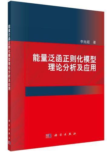 能量泛函正则化模型理论分析及应用