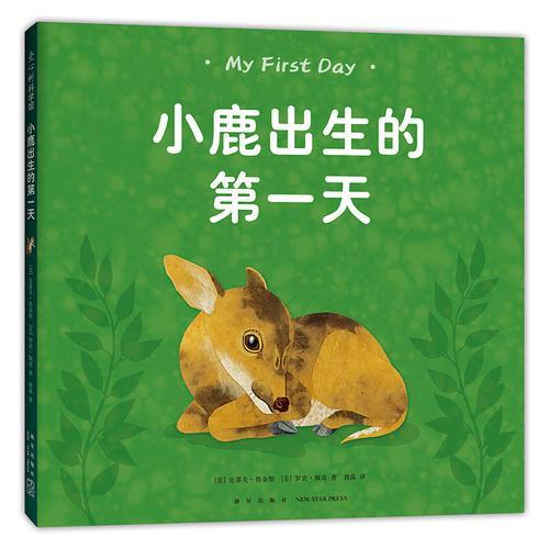 小鹿出生的第一天