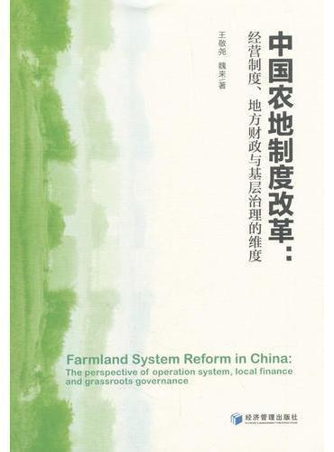 中国农村土地制度改革:经营制度、地方财政与基层治理的维度