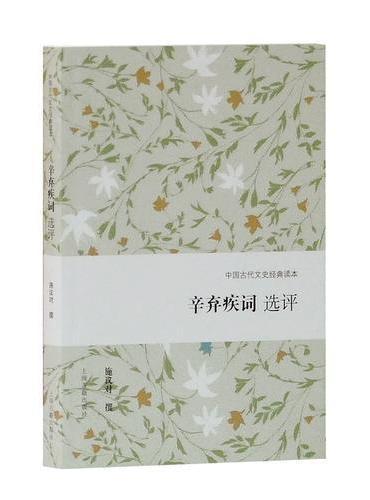 辛弃疾词选评(中国古代文史经典读本)