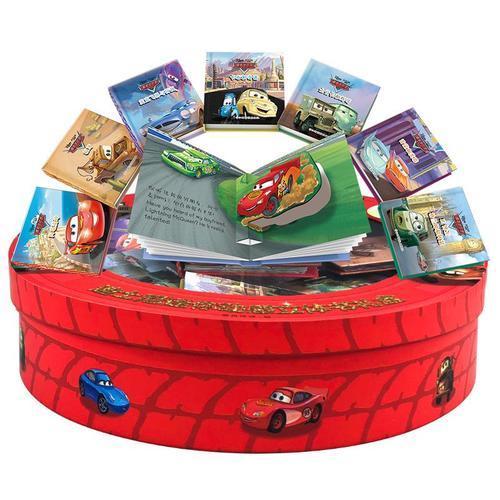 迪士尼迷你动感立体书礼盒-赛车总动员