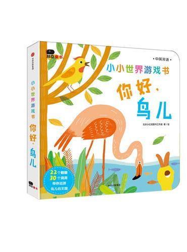 邦臣小红花·小小世界游戏书.你好.鸟儿