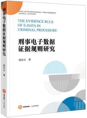 刑事电子数据证据规则研究