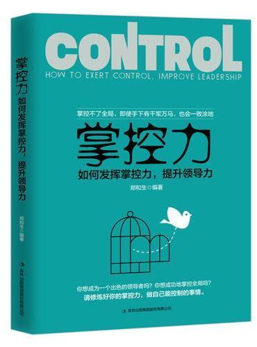 掌控力:如何发挥掌控力,提升领导力