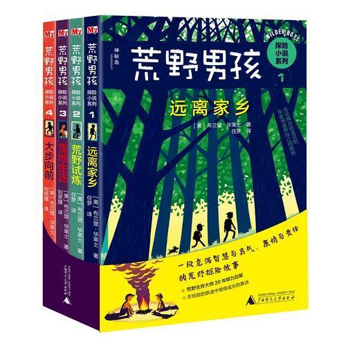 荒野男孩探险小说系列(全四册)
