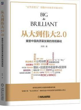 从大到伟大2.0:重塑中国高质量发展的微观基础