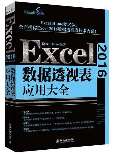 Excel 2016数据透视表应用大全