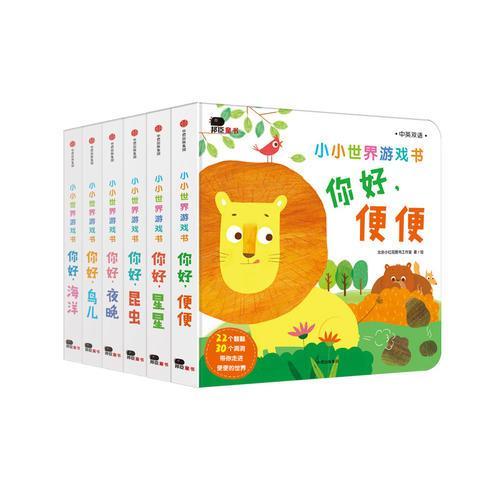 邦臣小红花·小小世界游戏书(6册套装)