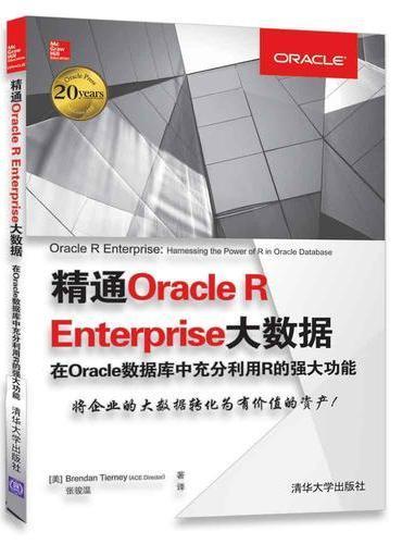 精通Oracle R Enterprise大数据 在Oracle数据库中充分利用R的强大功能