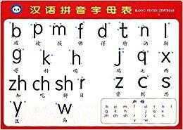 汉语拼音字母表