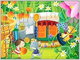 邦臣小红花·动手动脑玩拼图10(3-4岁)