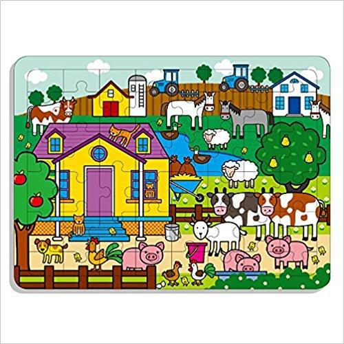 邦臣小红花·动手动脑玩拼图12(4-6岁)(48块)